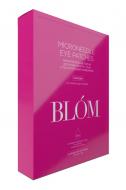 Микроигольные патчи с растительным кофеином от отёков под глазами BLÓM 4 пары