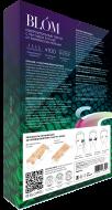 Микроигольные патчи с пептидом SYN-AKE от мимических морщин BLÓM 4 пары